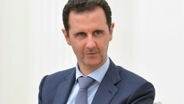 Bashar Asad, presidente de Siria - Sputnik Mundo