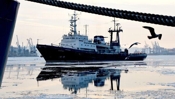 Торжественная встреча отряда кораблей Тихоокеанского флота во Владивостоке - Sputnik Mundo