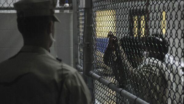 La cárcel de Guantánamo (archivo) - Sputnik Mundo