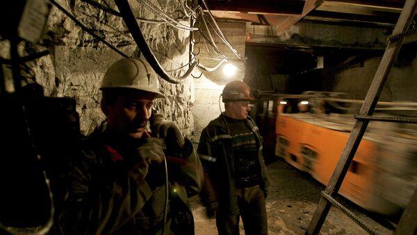 Los mineros de la mina Severnaya (archivo) - Sputnik Mundo