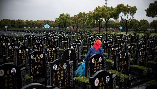 Cementerios en Shanghái - Sputnik Mundo