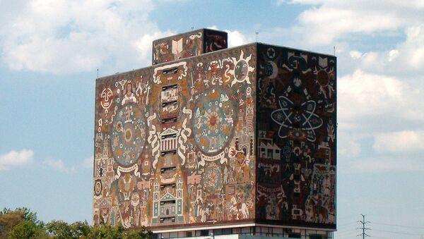 Biblioteca Central de la UNAM - Sputnik Mundo