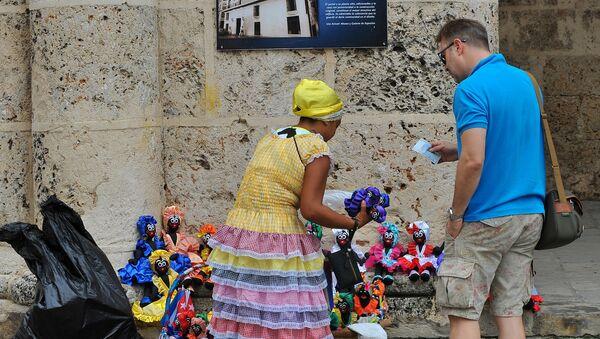 Un turista en La Habana - Sputnik Mundo