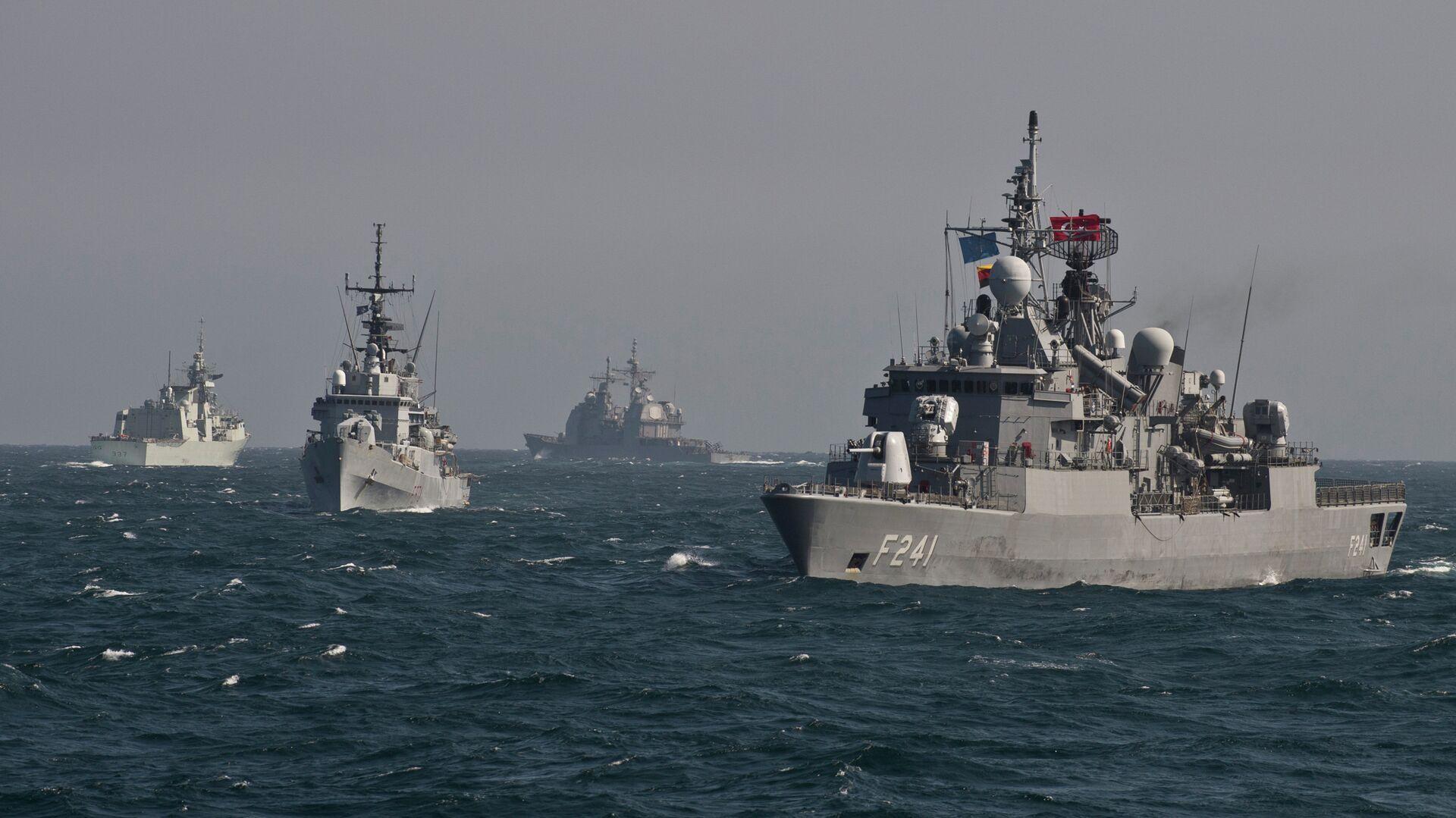 Buques de la OTAN en el mar Negro - Sputnik Mundo, 1920, 22.09.2021