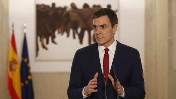 Pedro Sánchez, líder del PSOE - Sputnik Mundo