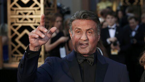 Sylvester Stallone, actor estadounidense - Sputnik Mundo