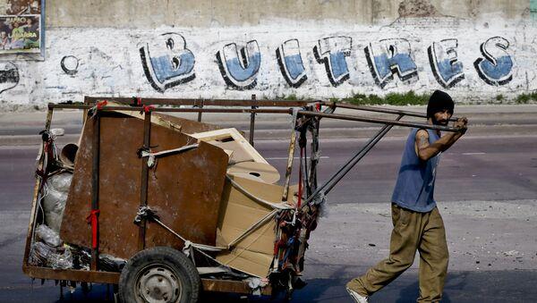Argentina y fondos buitre - Sputnik Mundo