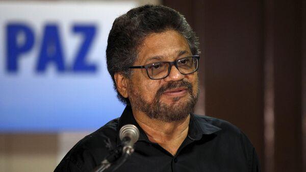 Iván Márquez, jefe del grupo armado ilegal Nueva Marquetalia - Sputnik Mundo