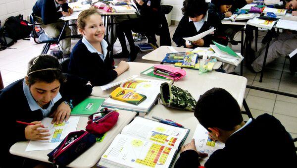 Una escuela en México - Sputnik Mundo