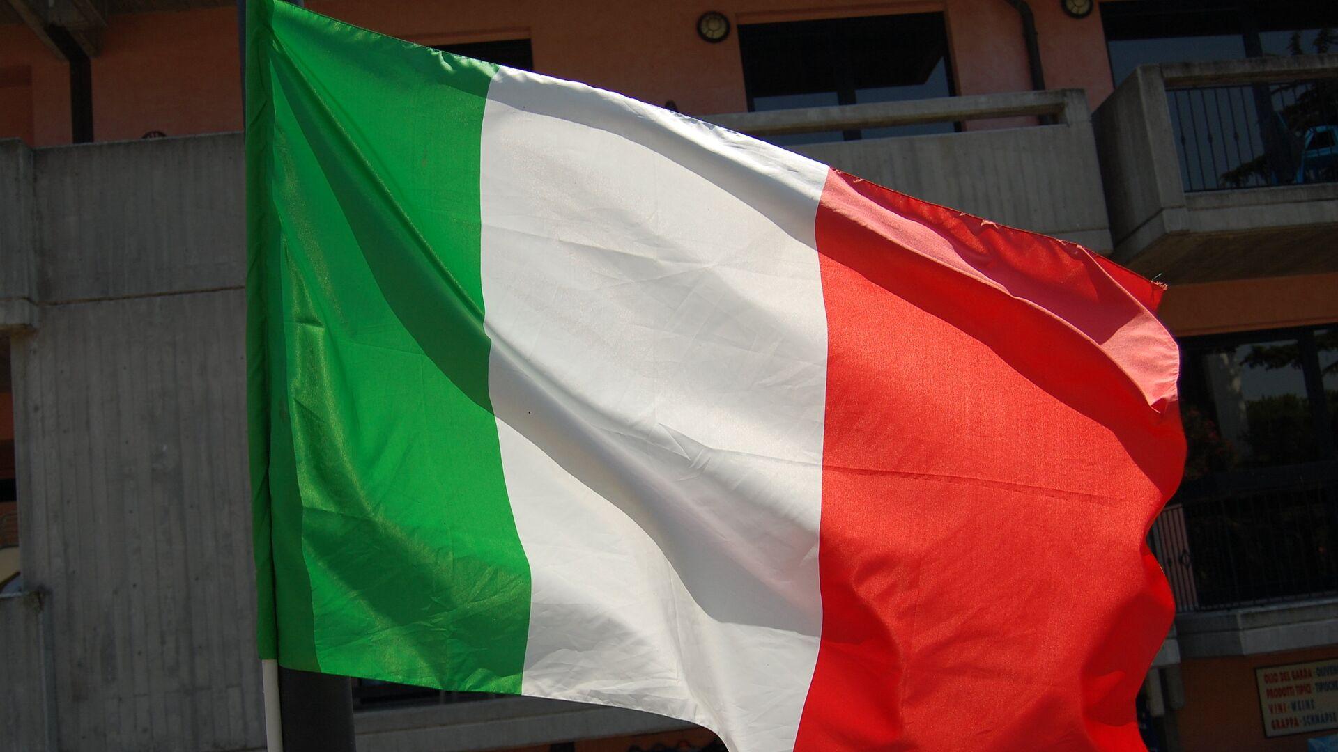 La bandera de Italia - Sputnik Mundo, 1920, 30.09.2021