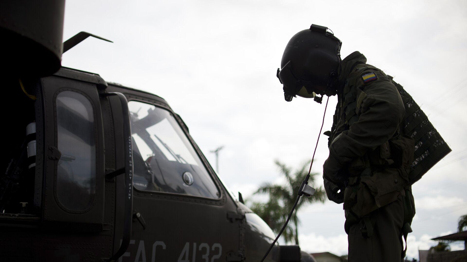 Soldado del Ejército de Colombia  - Sputnik Mundo, 1920, 29.09.2021