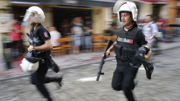 Policía de Turquía - Sputnik Mundo