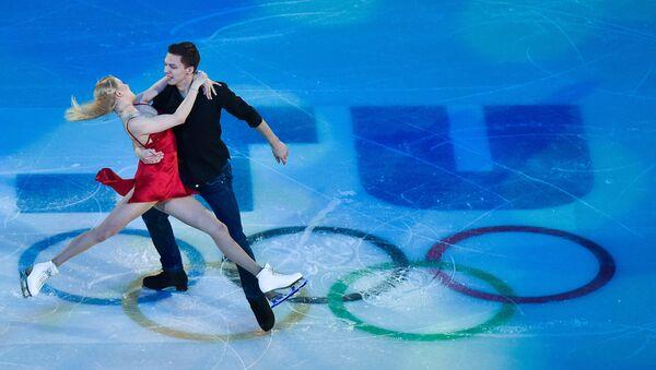 Ekaterina Bobrova y Dmitri Soloviev, campeones de los Juegos Olímpicos de 2014 - Sputnik Mundo
