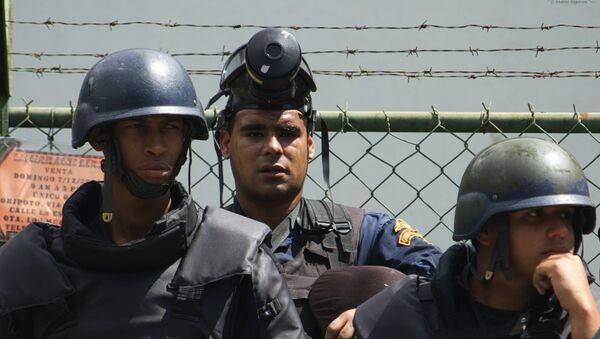 Policías venezolanos - Sputnik Mundo