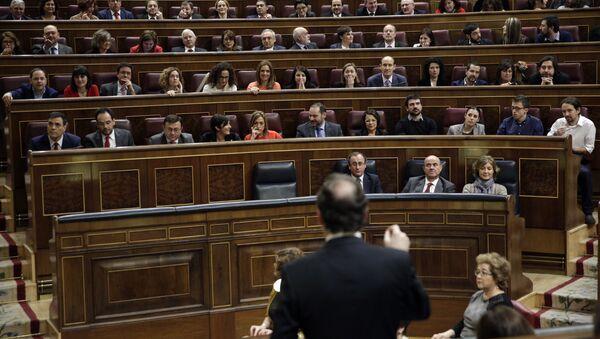 El parlamento de España - Sputnik Mundo