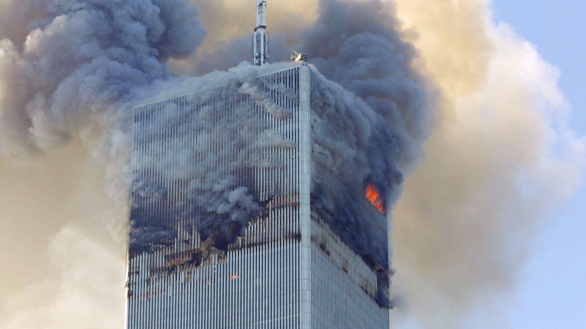 Atentados del 11 de septiembre de 2001 en EEUU (Archivo) - Sputnik Mundo, 1920, 08.09.2021