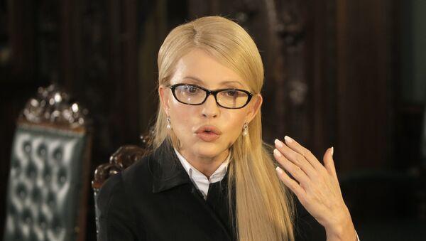 Yulia Timoshenko, jefa del partido Batkivschina - Sputnik Mundo