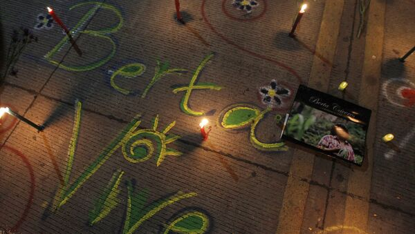Asesinato de Berta Cáceres en Honduras - Sputnik Mundo