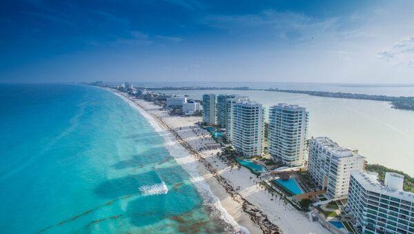El balneario mexicano de Cancún - Sputnik Mundo