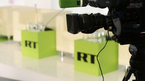 Logo de RT - Sputnik Mundo