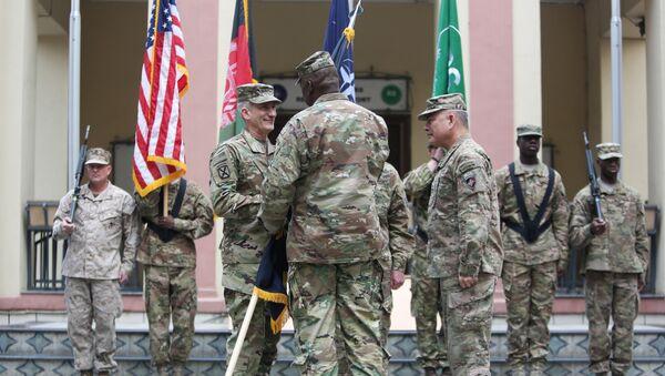 Comandantes de la OTAN en la sede de la misión Apoyo Resoluto, Kabul - Sputnik Mundo