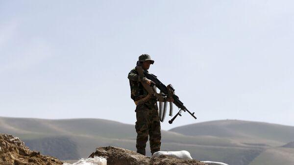 El soldado del Ejército afgano (Archivo) - Sputnik Mundo