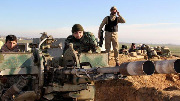 Militantes de Peshmerga (archivo) - Sputnik Mundo