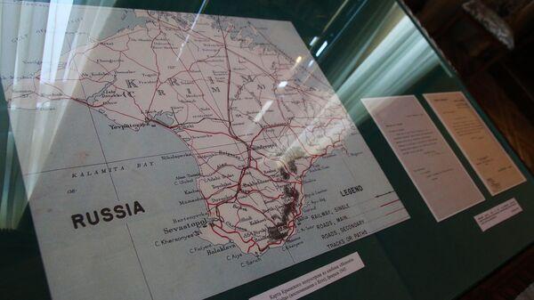 El mapa de Crimea - Sputnik Mundo