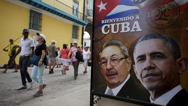 La Habana durante la normalización de las relaciones entre EEUU y Cuba - Sputnik Mundo
