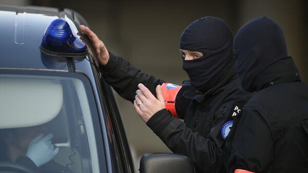 Agentes de seguridad belgas - Sputnik Mundo