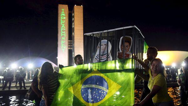 Cuatro preguntas sobre la crisis institucional que vive Brasil - Sputnik Mundo
