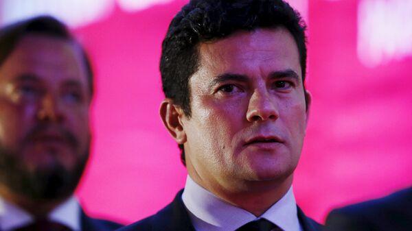 Juez Sérgio Moro, que lidera la Operación Lava Jato - Sputnik Mundo