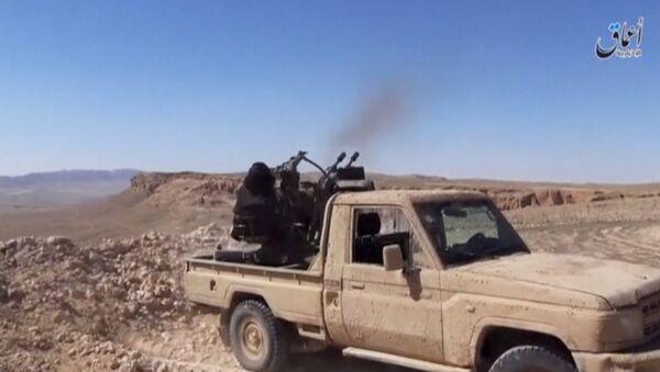 Militantes del Daesh (archivo) - Sputnik Mundo