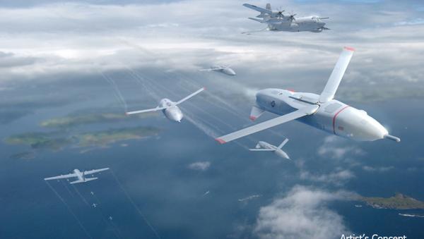El concepto de los drones de DARPA - Sputnik Mundo