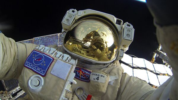 Un cosmonauta ruso (imagen referencial) - Sputnik Mundo