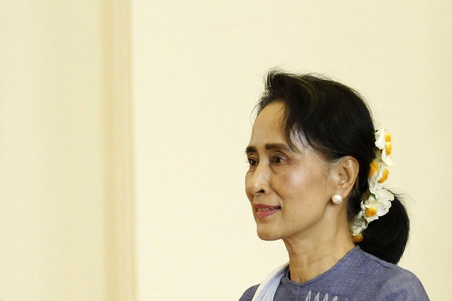 Aung San Suu Kyi, exconsejera de Estado de Birmania - Sputnik Mundo, 1920, 11.02.2021
