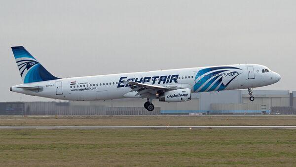Un avión de Egypt Air - Sputnik Mundo