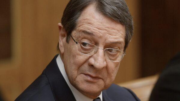 Nikos Anastasiadis, presidente de Chipre - Sputnik Mundo