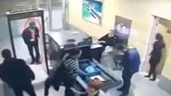 El secuestrador del A320 egipcio en el aeropuerto de Alejandría - Sputnik Mundo