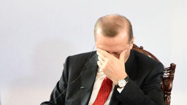 El presidente turco Recep Tayyip Erdogan - Sputnik Mundo