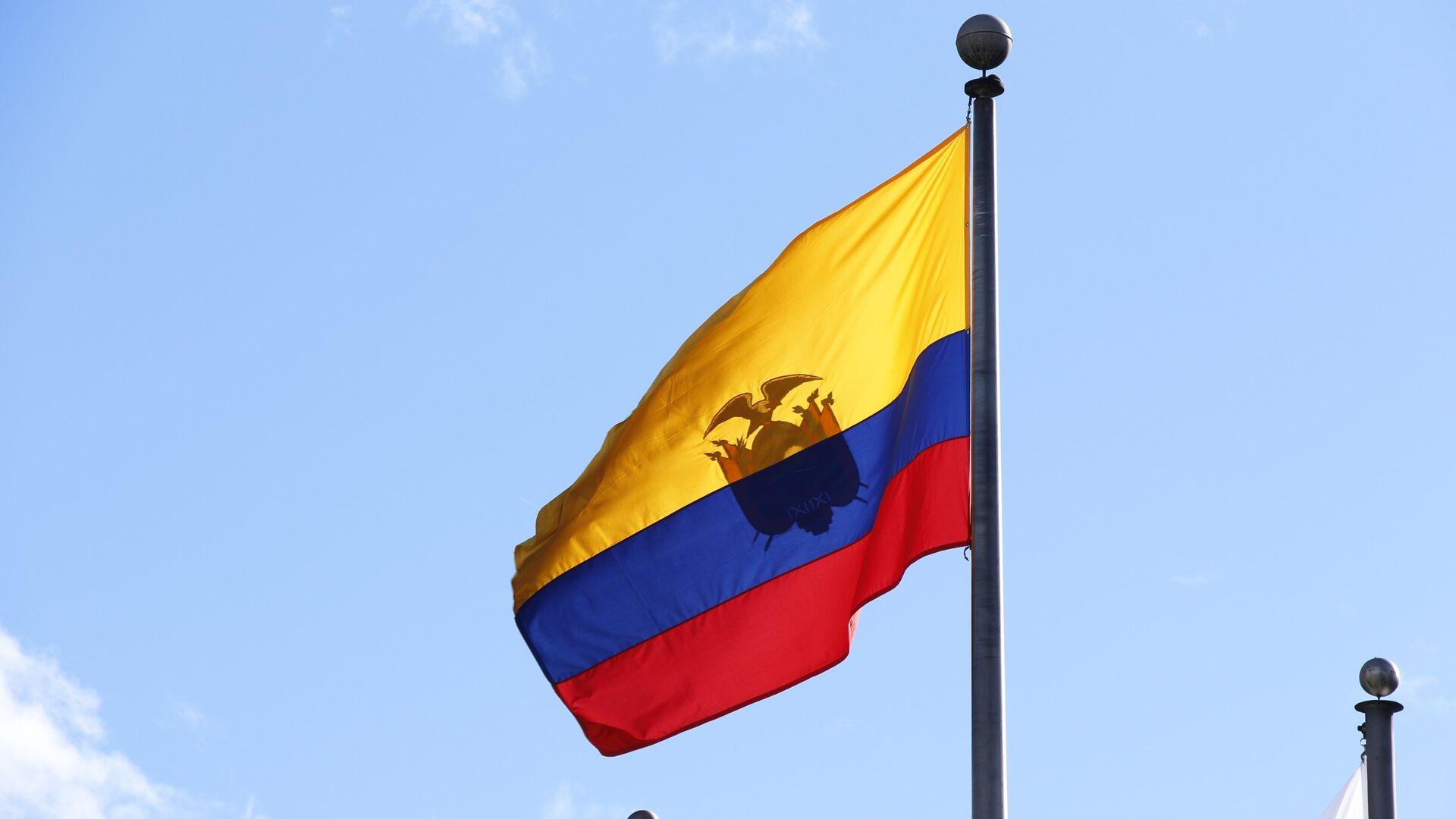 Bandera de Ecuador - Sputnik Mundo, 1920, 28.07.2021