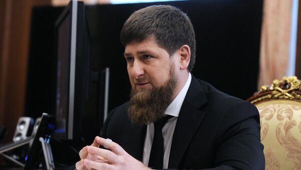 Ramzán Kadirov, dirigente de la República de Chechenia - Sputnik Mundo