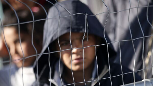 Refugiado en Europa - Sputnik Mundo