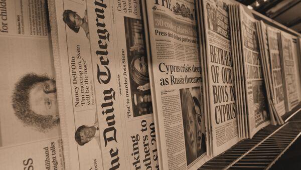 Prensa - Sputnik Mundo