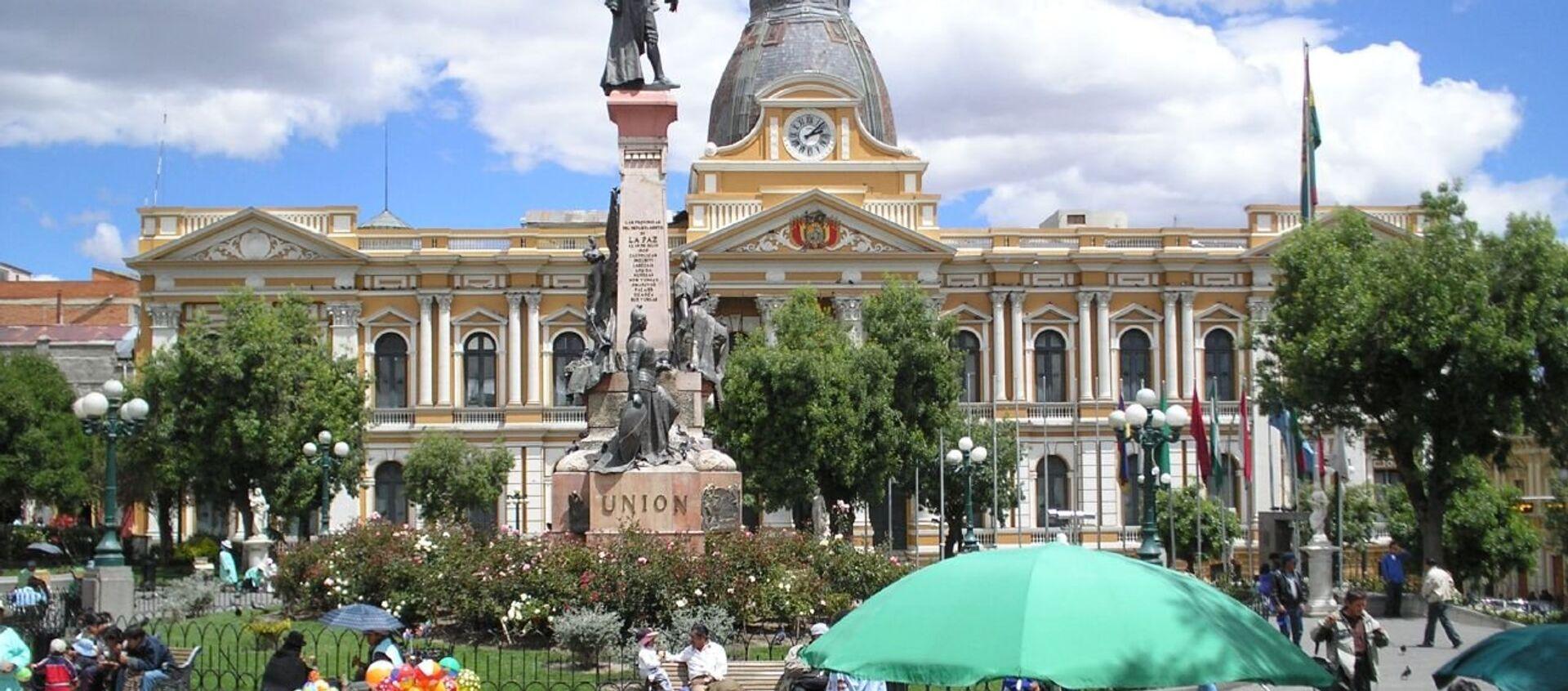 Palacio de Gobierno de Bolivia - Sputnik Mundo, 1920, 21.01.2021