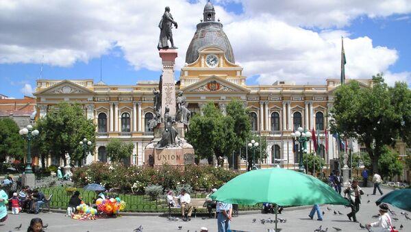 Palacio de Gobierno de Bolivia (archivo) - Sputnik Mundo