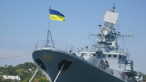 Un buque de la Armada de Ucrania (archivo) - Sputnik Mundo