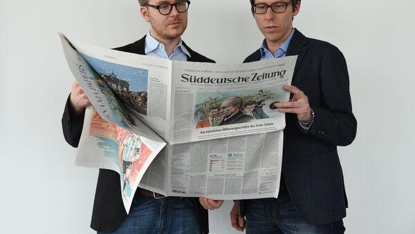 Süddeutsche Zeitung - Sputnik Mundo