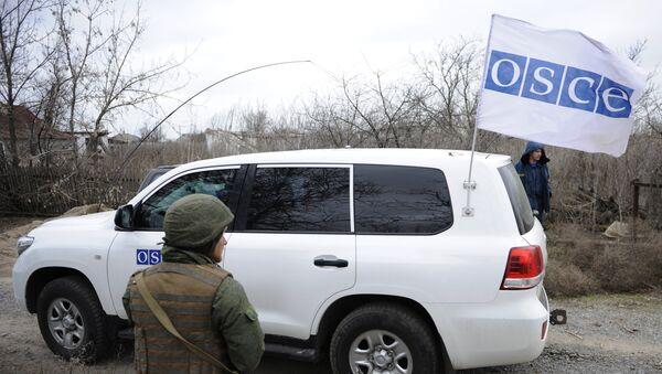 Misión de la OSCE en Ucrania - Sputnik Mundo