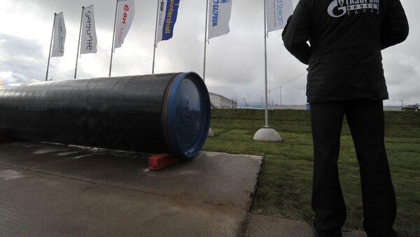 El proyecto de gasoducto Nord Stream (archivo) - Sputnik Mundo